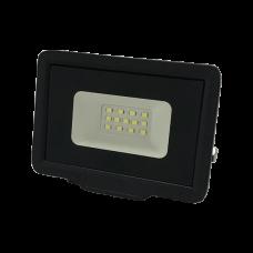 LED Προβολέας  10W Black Body IP65  SMD 2700K