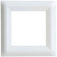 Μονό πλαίσιο Λευκό