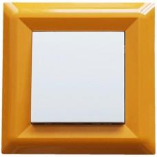Μονό πλαίσιο Πορτοκαλί