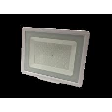 LED Προβολέας  100W White Body IP65  SMD 2700K