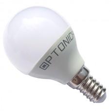 ΛΑΜΠΤΗΡΑΣ LED G45 E14 6W Θερμού Φωτισμού 2700κ