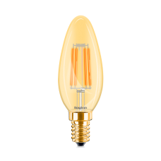 ΛΑΜΠΤΗΡΑΣ LED E14 4W FILAMENT C35 2200K BRAYTRON