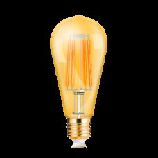 ΛΑΜΠΤΗΡΑΣ LED E27 6W FILAMENT ST64 2200K DIMMABLE BRAYTRON